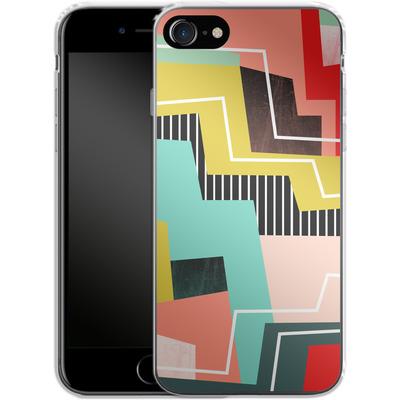 Apple iPhone 8 Silikon Handyhuelle - Color Block I von Susana Paz