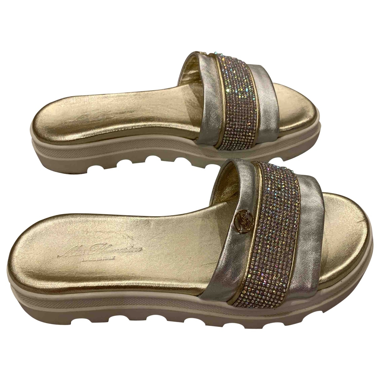 Blumarine \N Rubber Sandals for Kids 33 EU