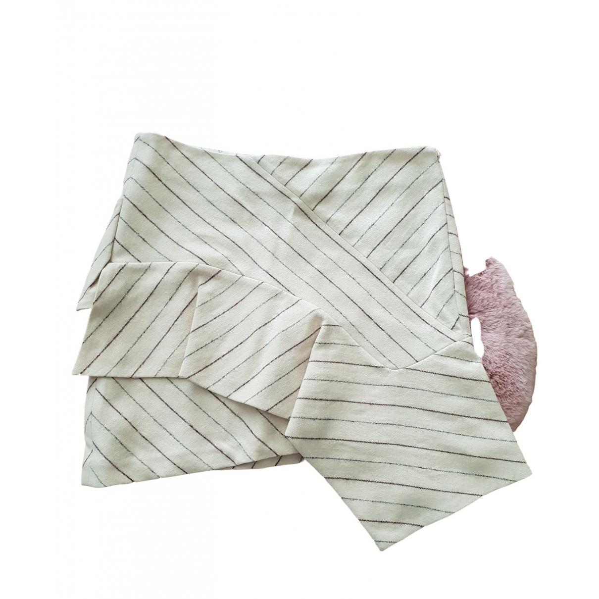 Isabel Marant \N Beige Wool skirt for Women 40 FR