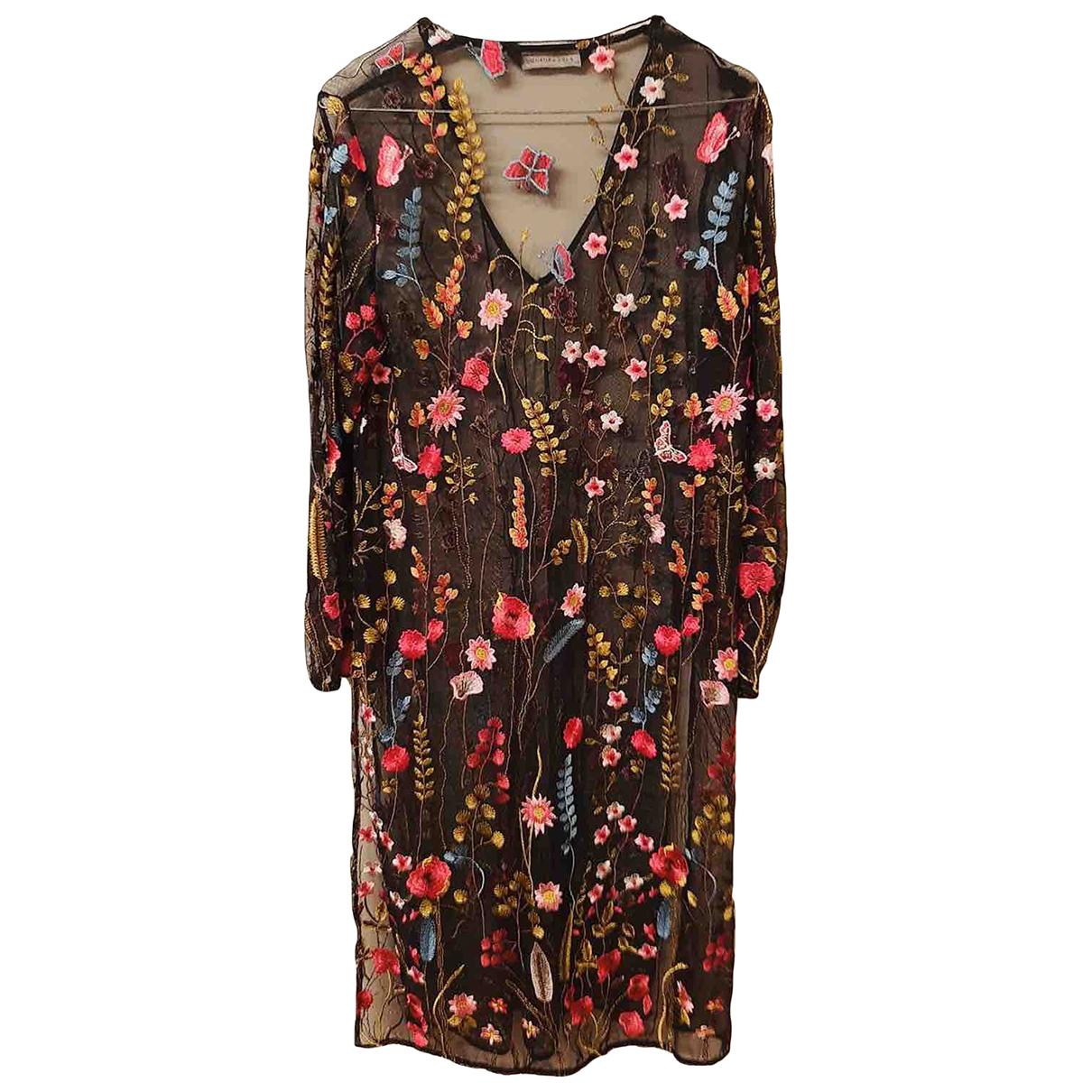 Zara \N Kleid in  Bunt Polyester