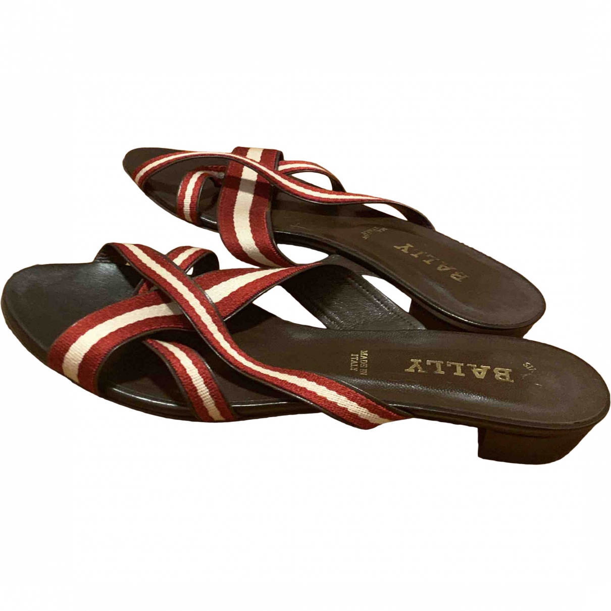 Bally \N Brown Leather Sandals for Women 38.5 EU