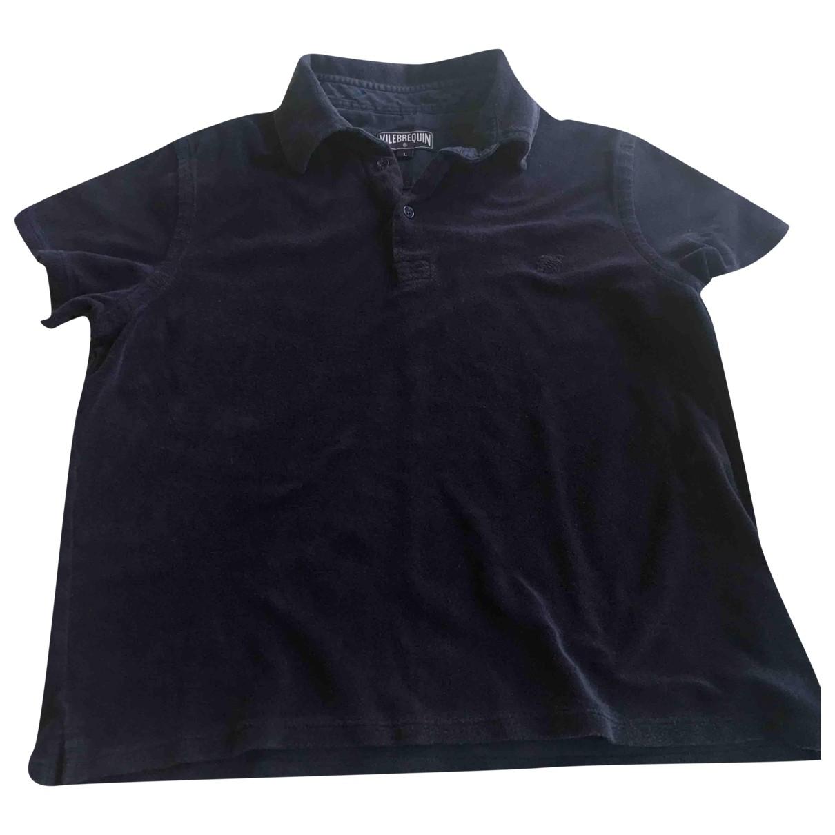 Vilebrequin \N Blue Cotton Polo shirts for Men L International