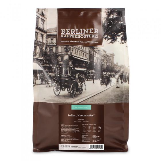 """Kaffeebohnen Berliner Kaffeerosterei """"Indien Monsunespresso"""", 1 kg"""