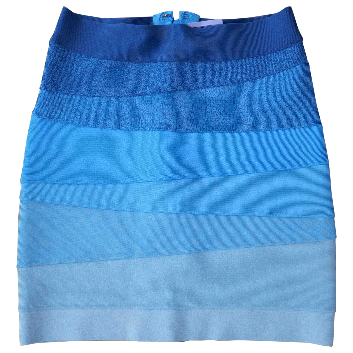 Herve Leger - Jupe   pour femme - bleu