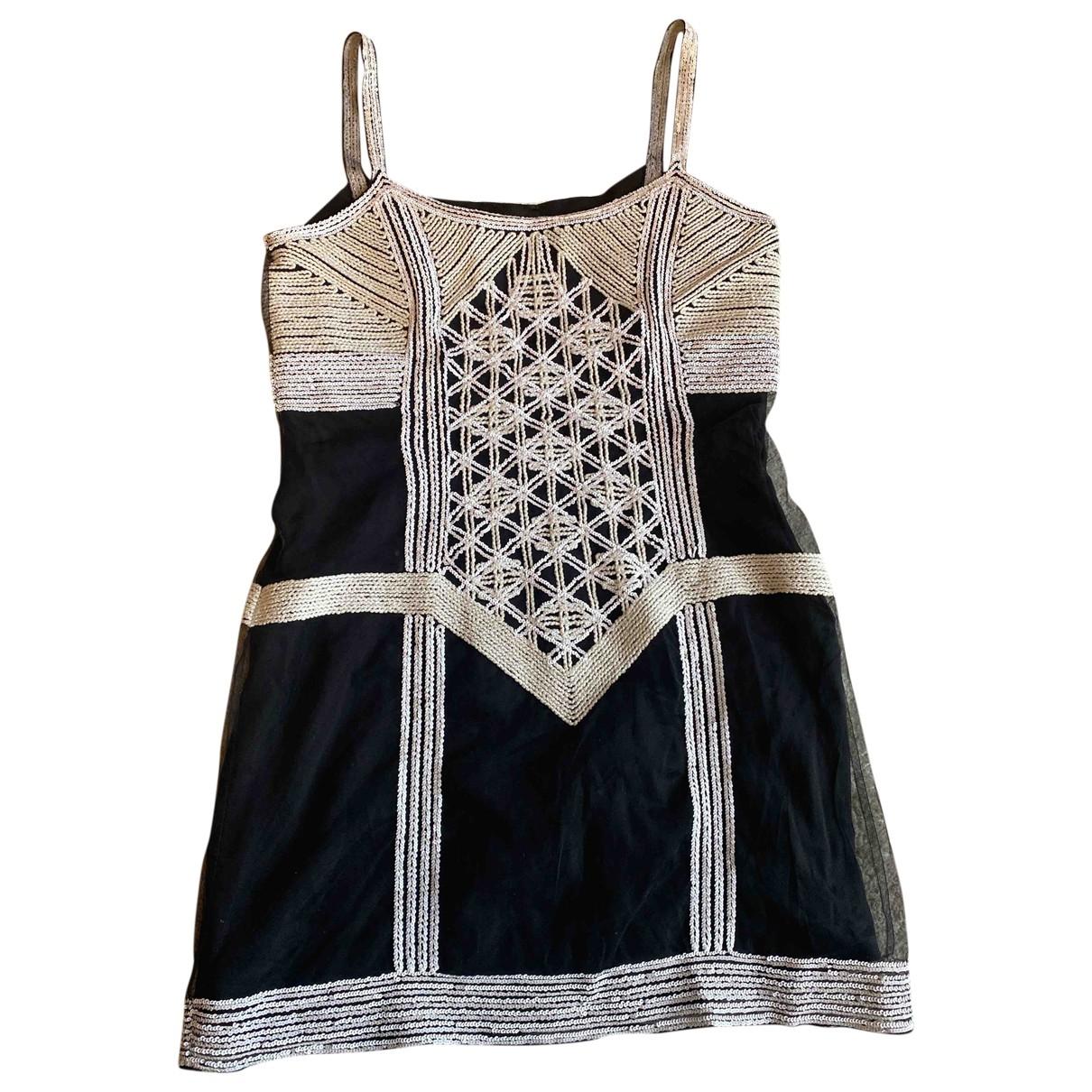 Mini vestido de Seda Fendi