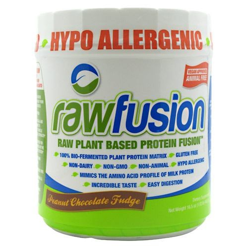 RAW FUSION NATURAL Nut Fudge 15 serving by SAN Supplements