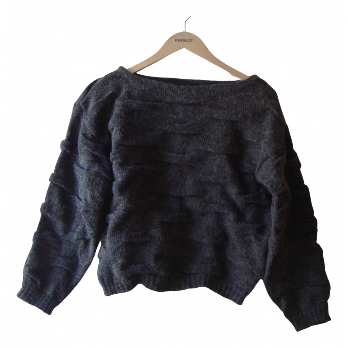 Non Signé / Unsigned \N Grey Knitwear for Women S International