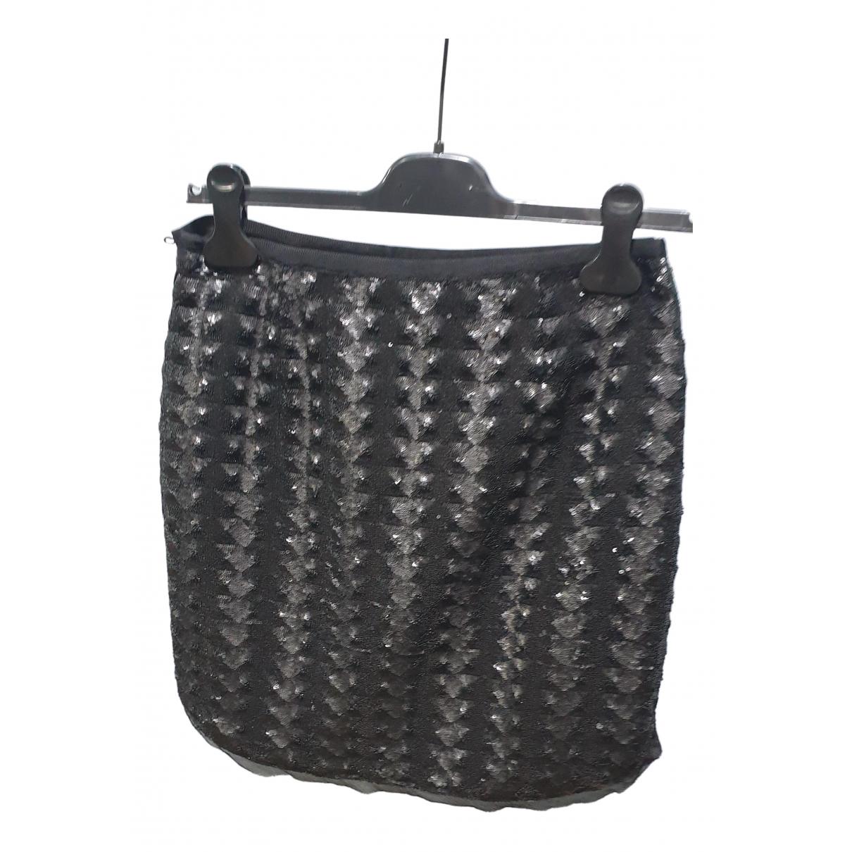 Comptoir Des Cotonniers - Jupe   pour femme en a paillettes - noir