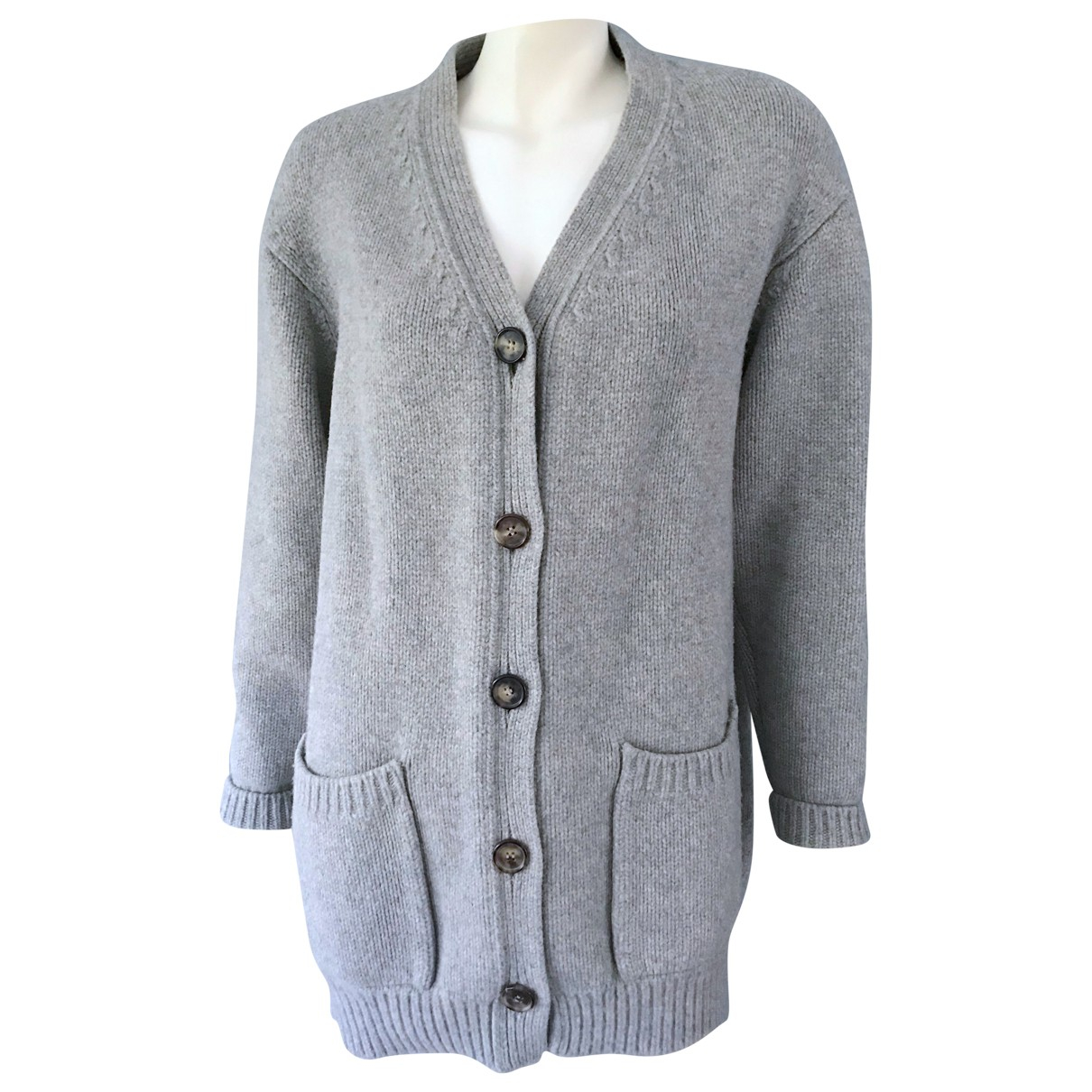 Celine - Pull   pour femme en cachemire - gris