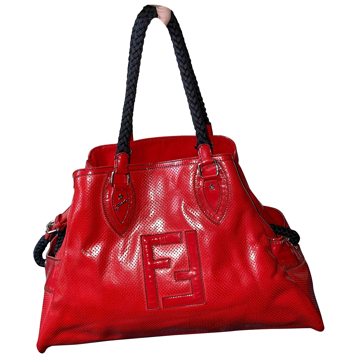 Fendi \N Red Patent leather handbag for Women \N