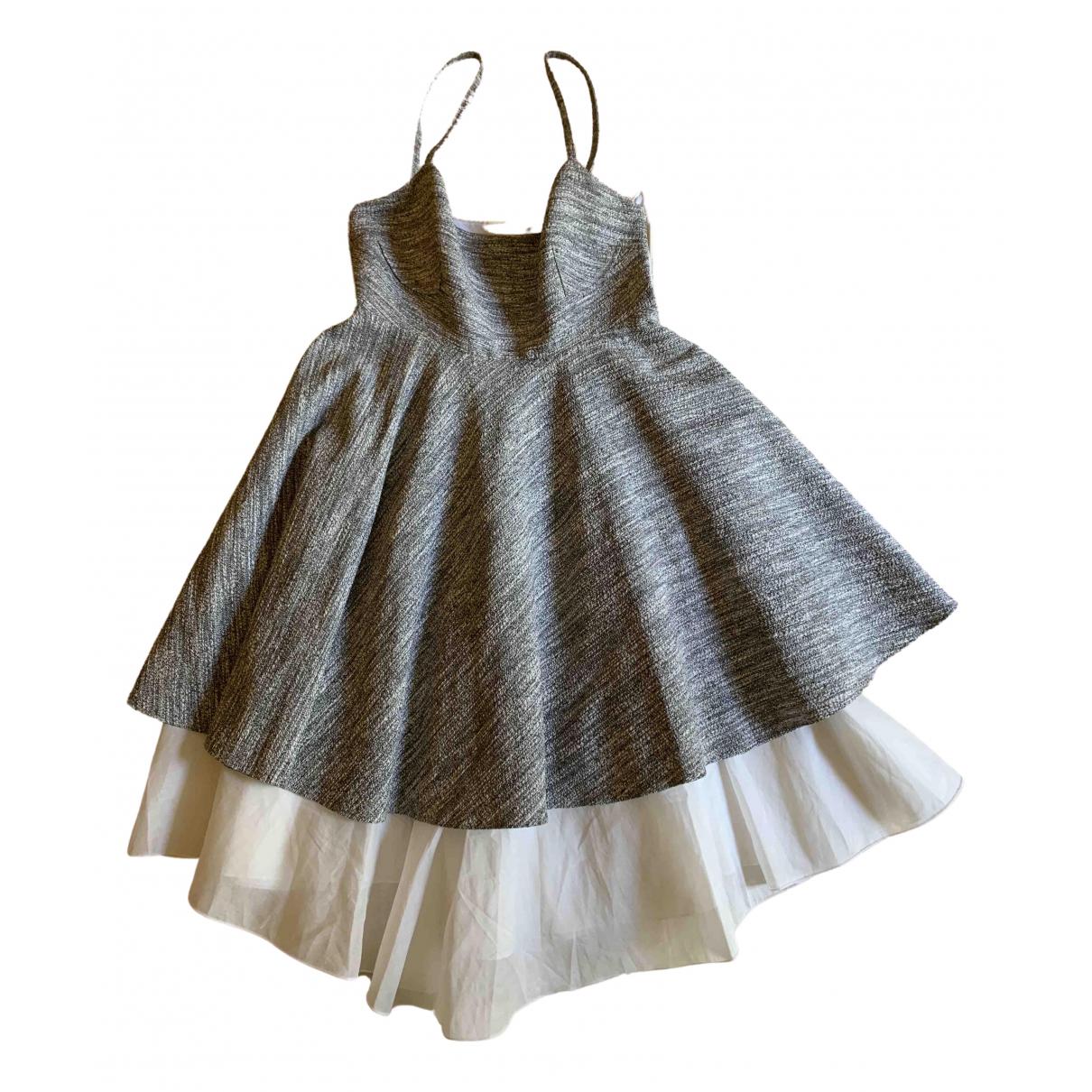 Philosophy Di Alberta Ferretti - Robe   pour femme en coton - gris