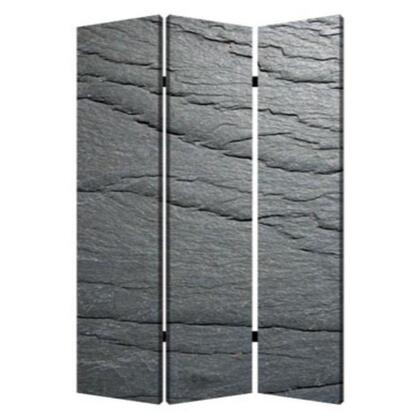 274661 1 x 48 x 72 Multi-Color  Wood  Canvas  Black Slate -