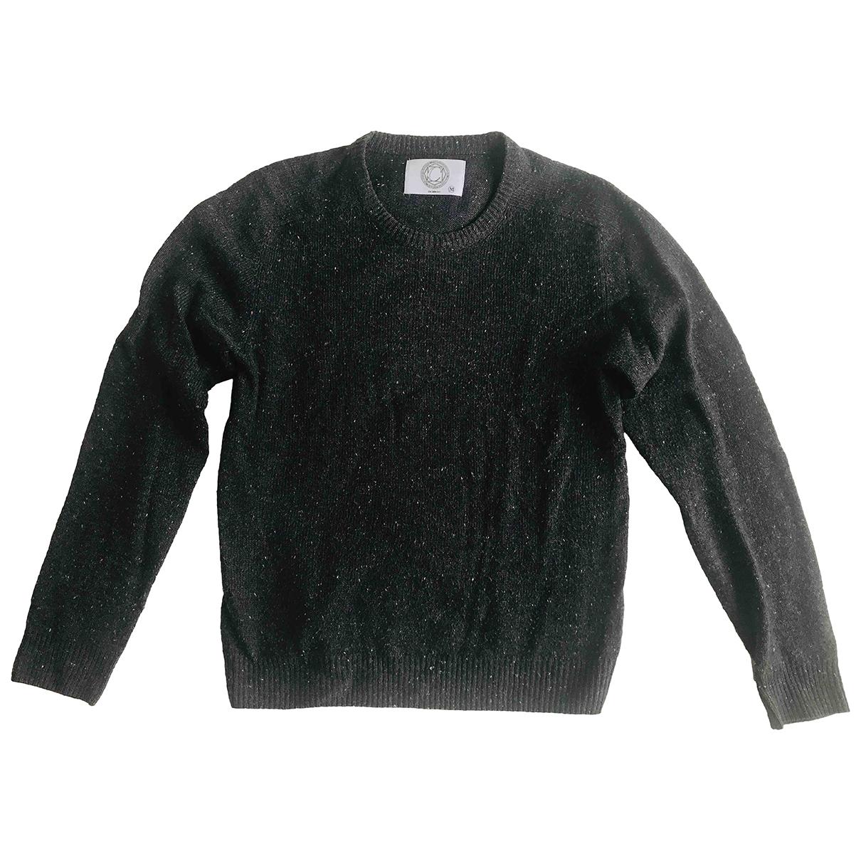 Non Signe / Unsigned \N Pullover.Westen.Sweatshirts  in  Anthrazit Wolle