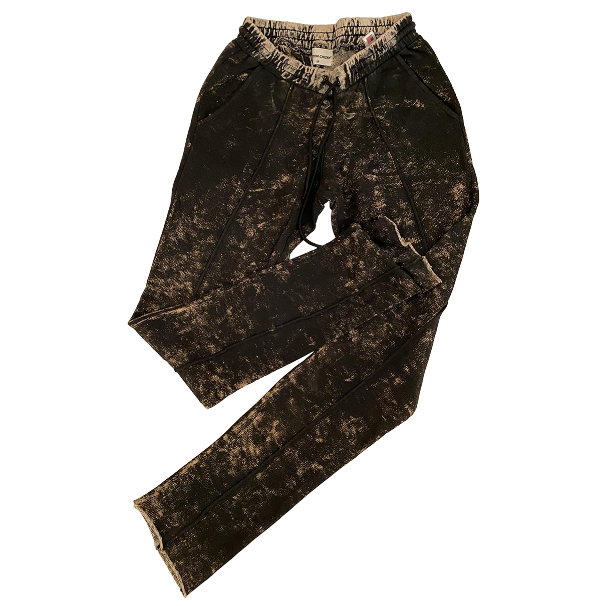 Cotton Citizen \N Brown Cotton Trousers for Women XS International