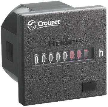 Crouzet CHM48, 7 Digit, Mechanical, Digital Counter, 187 ? 264 V ac