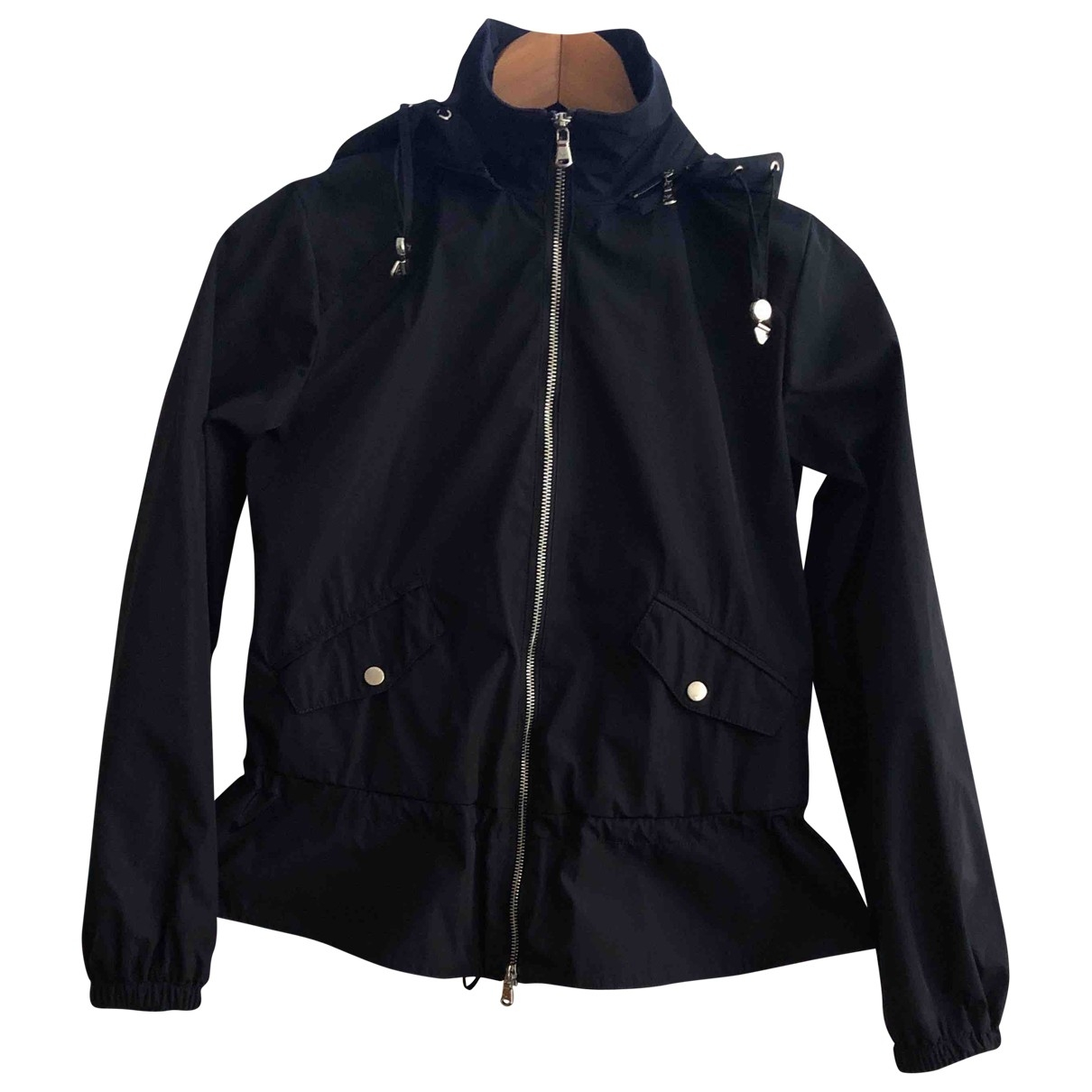 Emporio Armani \N Navy jacket for Women 40 IT