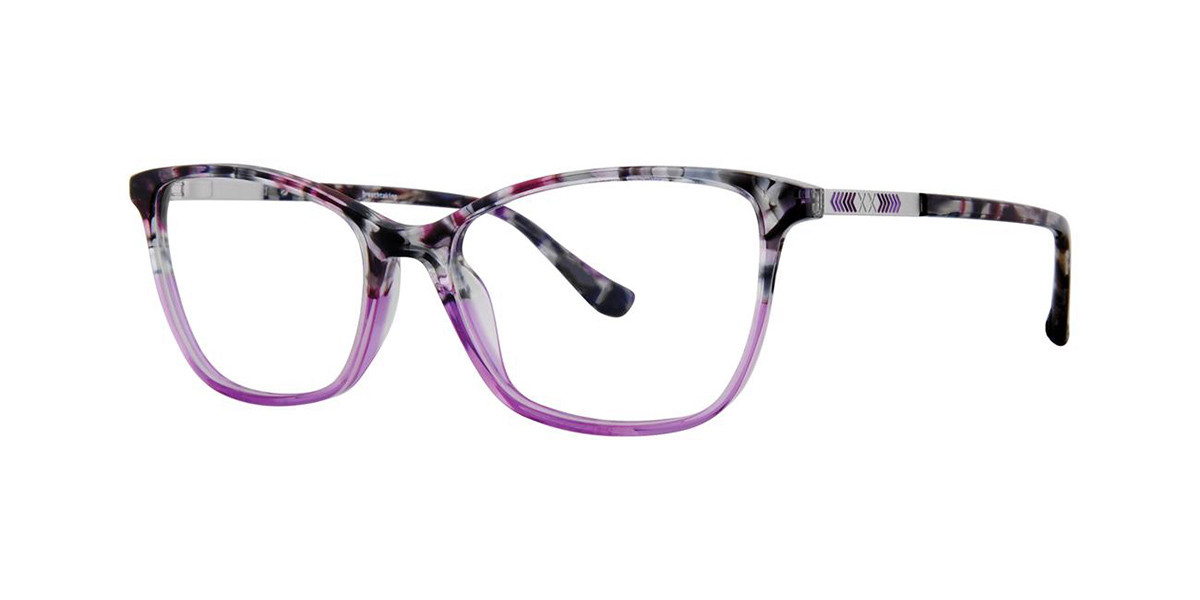 Kensie BREATHTAKING Purple Men's Glasses Tortoise Size 51 - Free Lenses - HSA/FSA Insurance - Blue Light Block Available