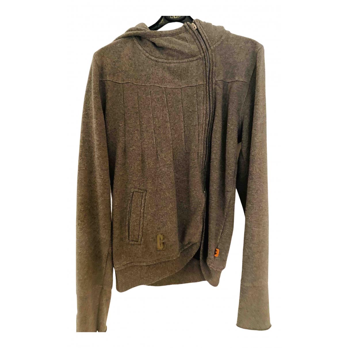 Object Particolare Milano - Pull   pour femme en coton - marron