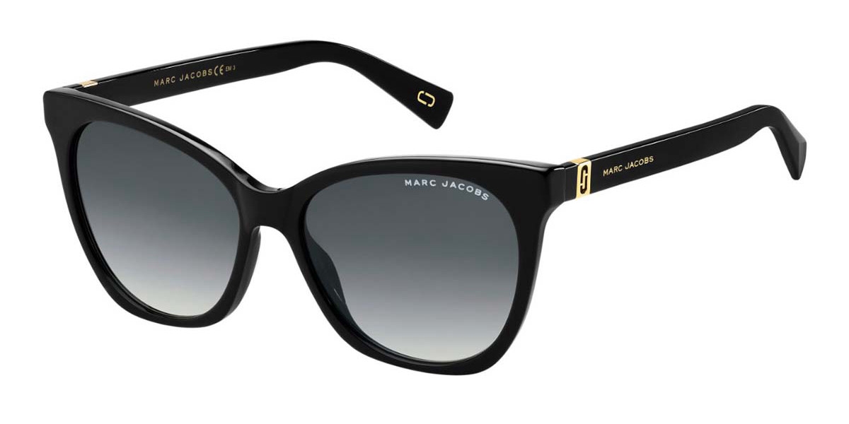 Marc Jacobs MARC 336/S 807/9O Women's Sunglasses Black Size 56