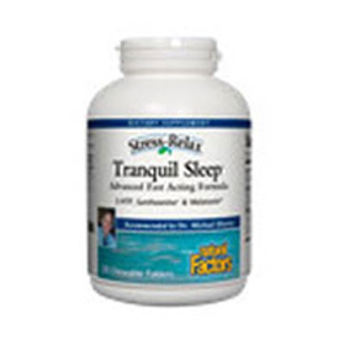 Stress-Relax Tranquil Sleep 45 Softgels by Natural Factors