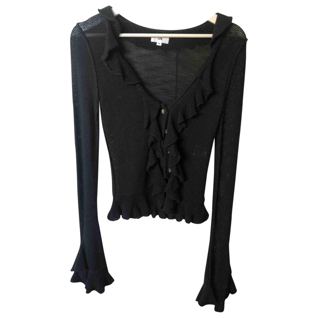 Lpa \N Black Cotton Knitwear for Women XS International