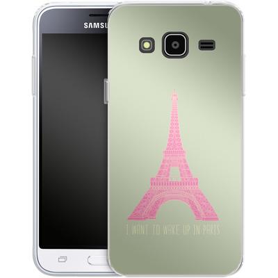 Samsung Galaxy J3 (2016) Silikon Handyhuelle - Oui Oui von Bianca Green