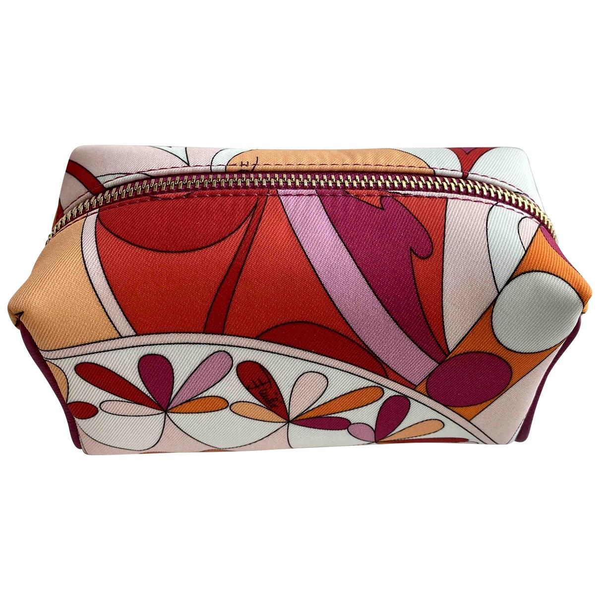 Emilio Pucci \N Multicolour Silk Travel bag for Women \N