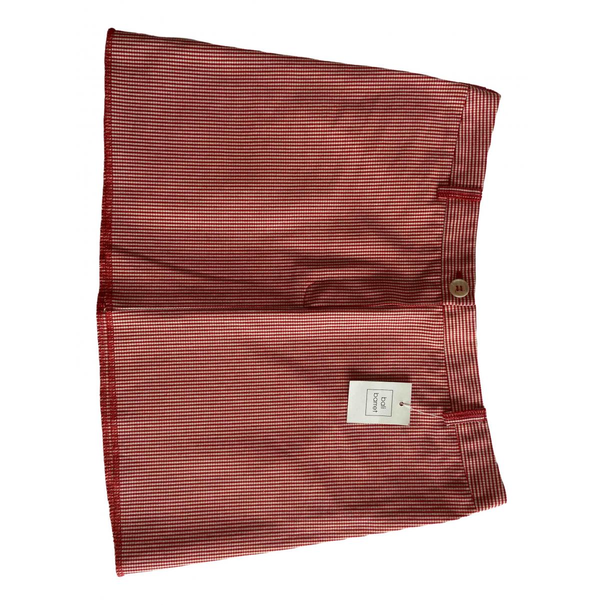 Bali Barret \N Red Cotton skirt for Women 36 FR