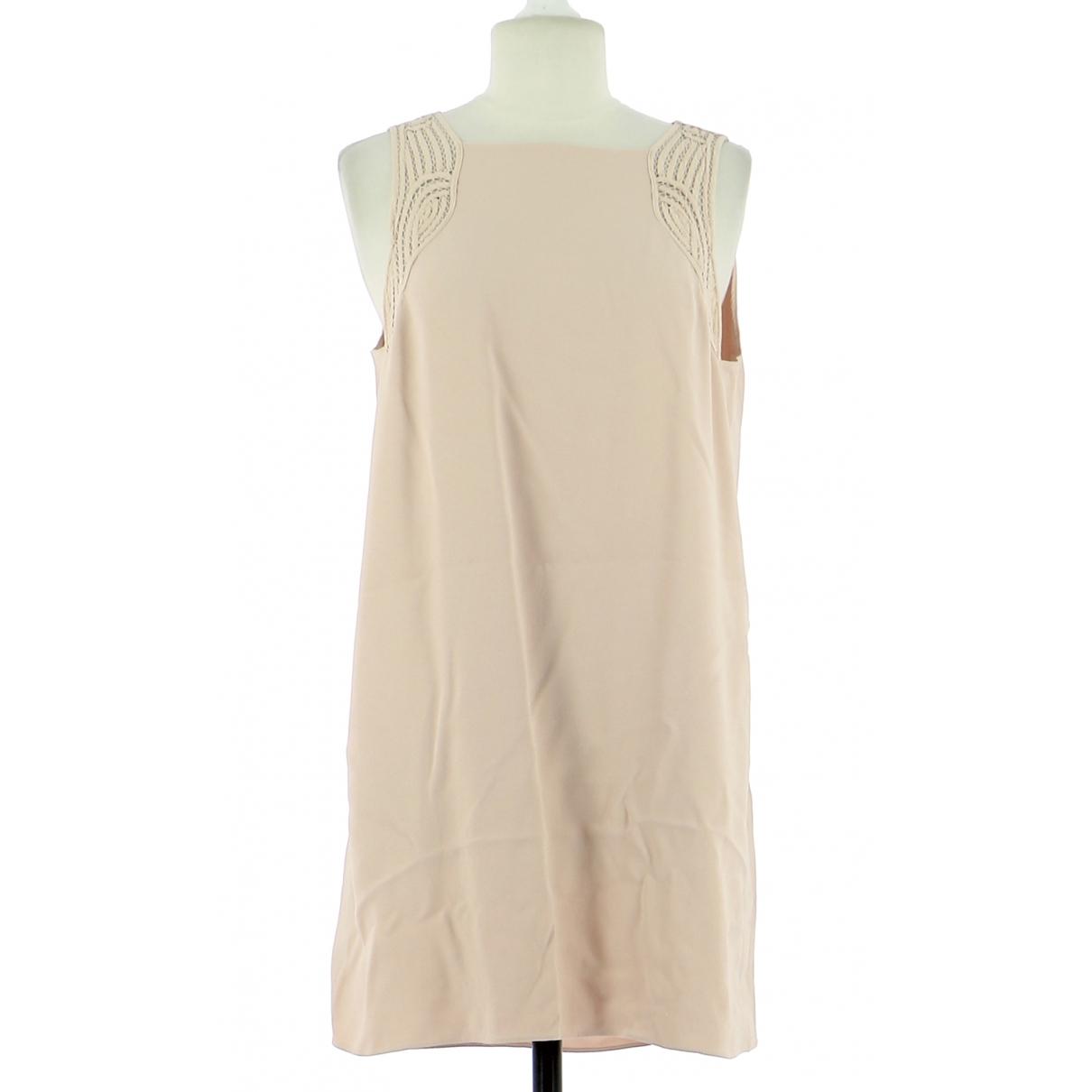 Vanessa Bruno \N Pink Leather dress for Women 40 FR