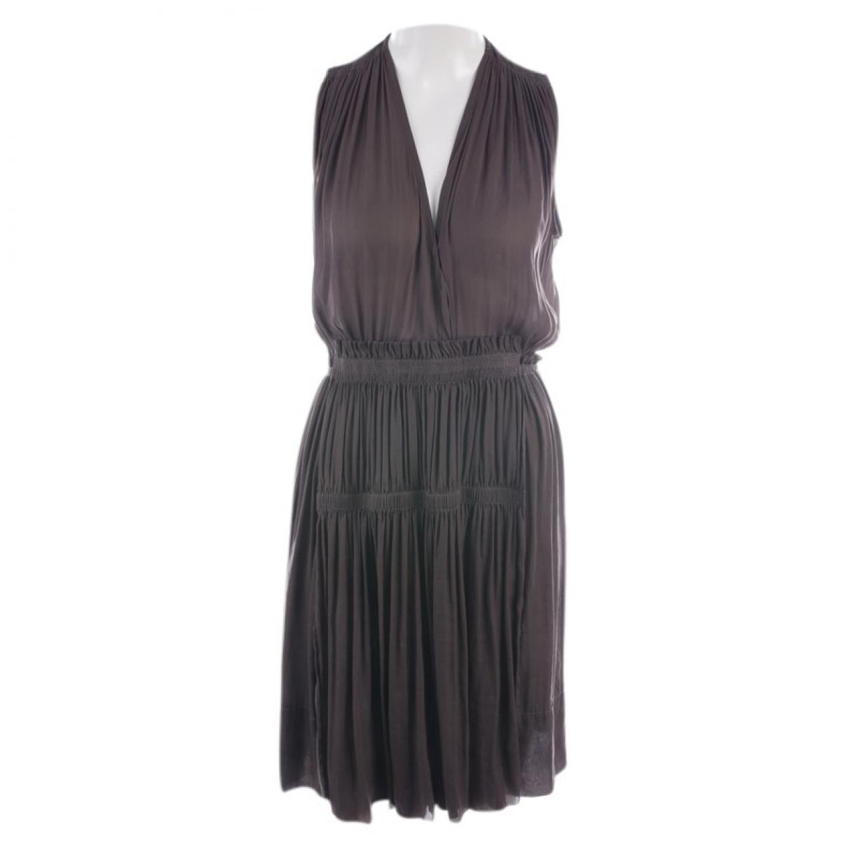 Isabel Marant \N Kleid in  Braun Synthetik
