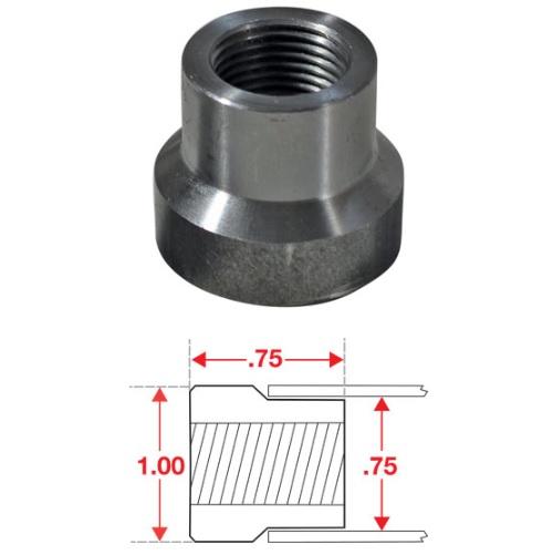 SPC Performance 15300 Weld In Bung RH Thread 1/5in x 20