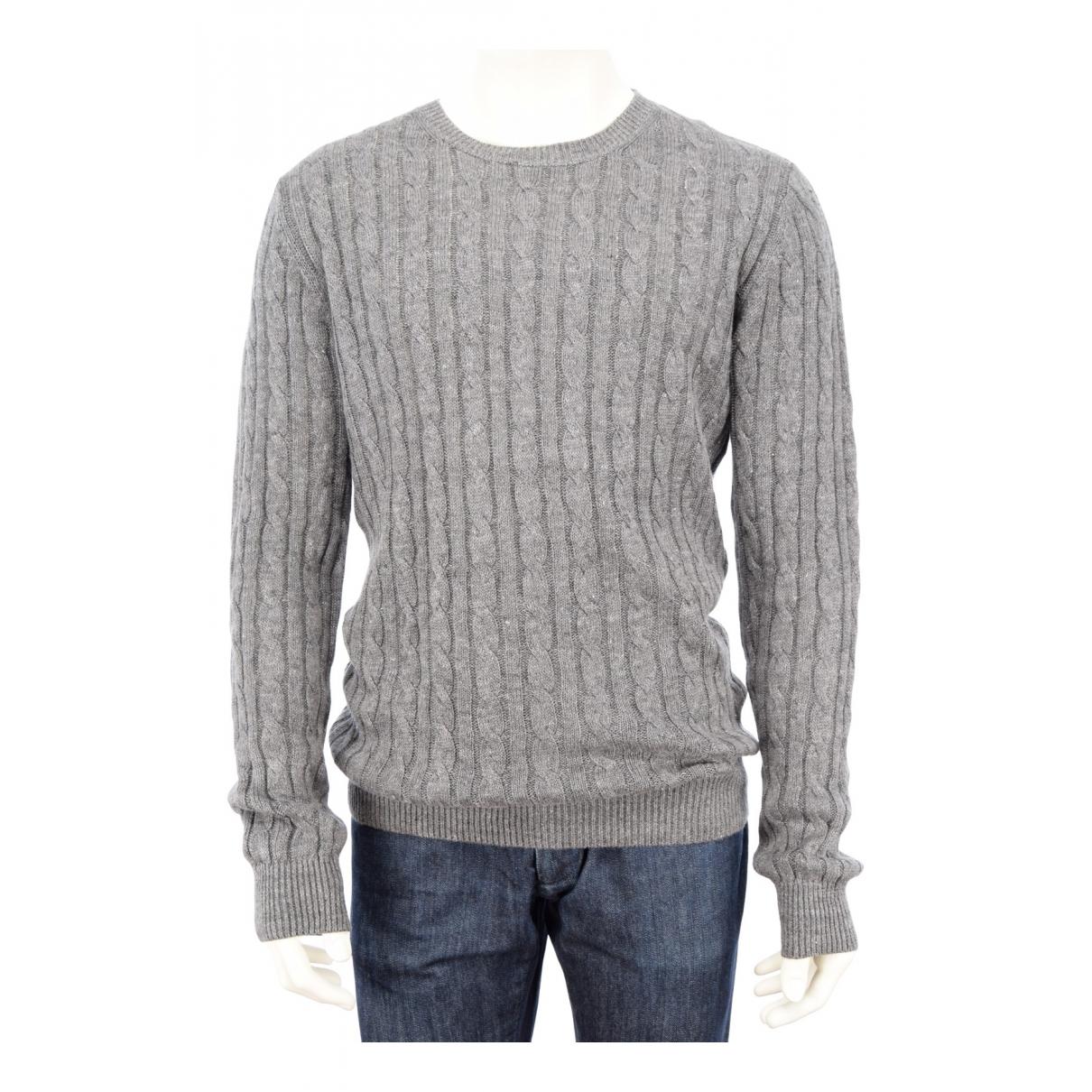 Suitsupply \N Pullover.Westen.Sweatshirts  in  Grau Leinen