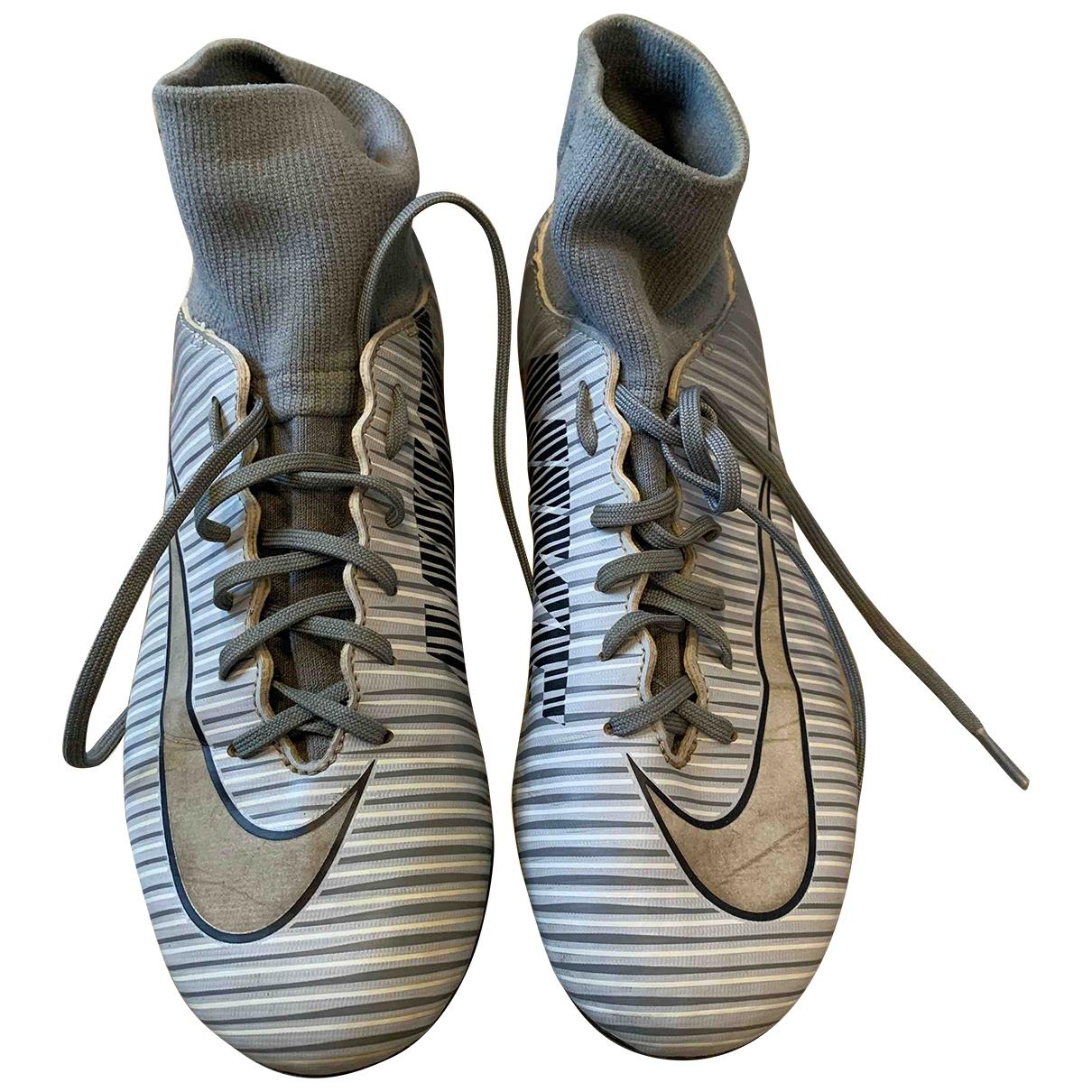 Nike \N Grey Trainers for Kids 5.5 UK