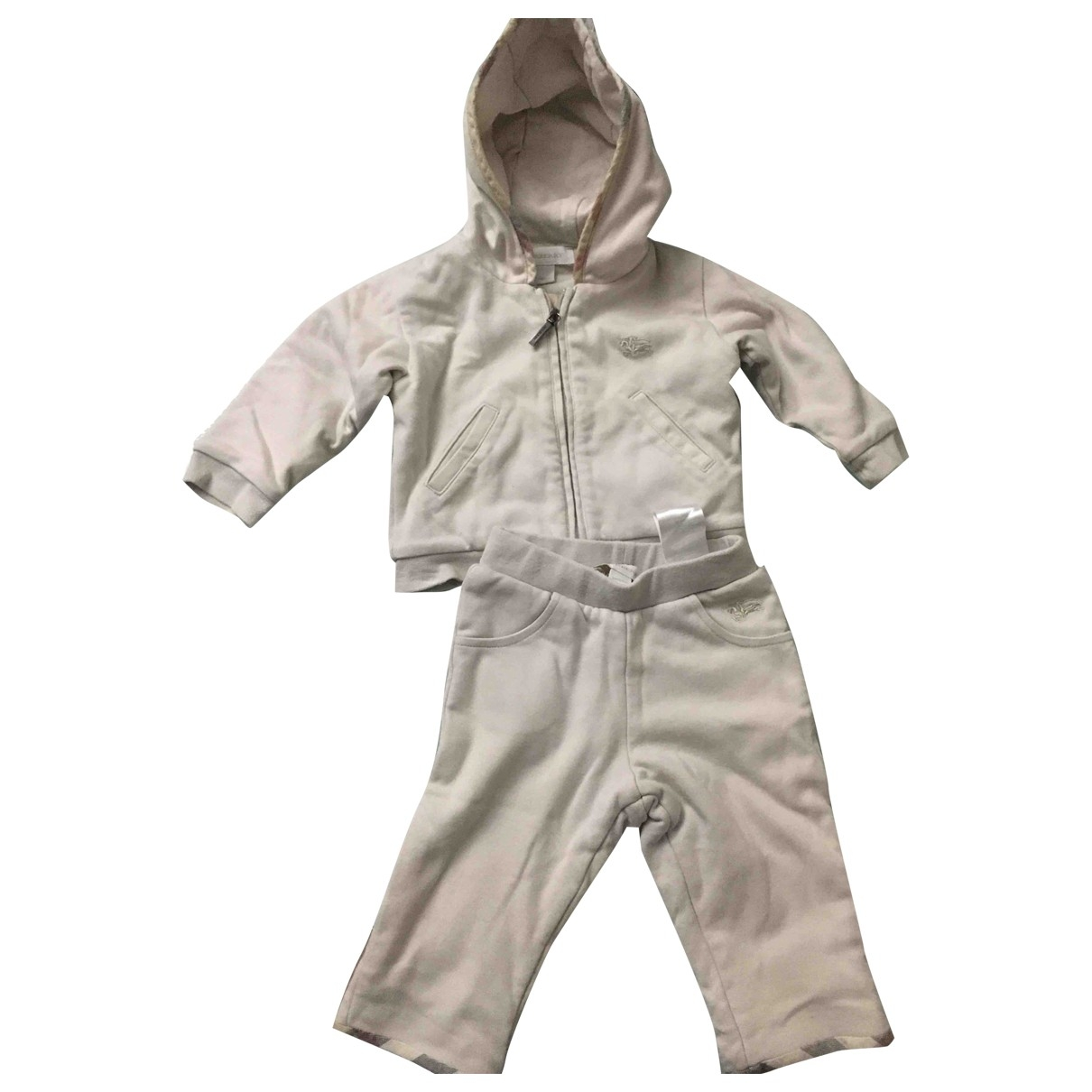 Burberry \N Beige Cotton Outfits for Kids 6 months - up to 67cm FR