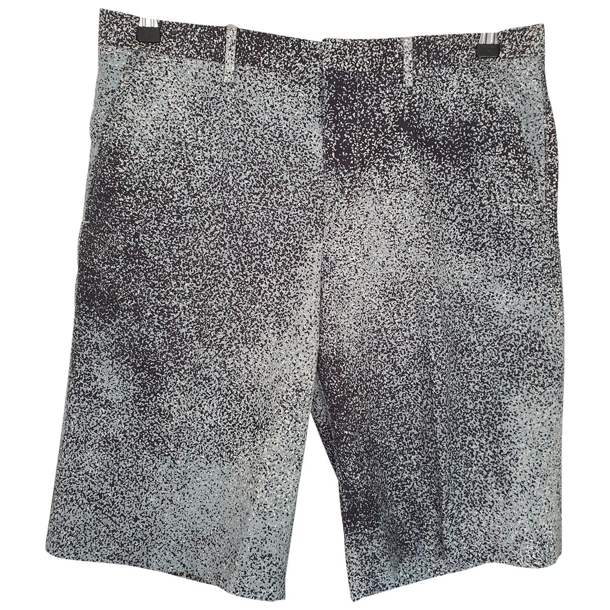 Kenzo \N Shorts in  Anthrazit Baumwolle