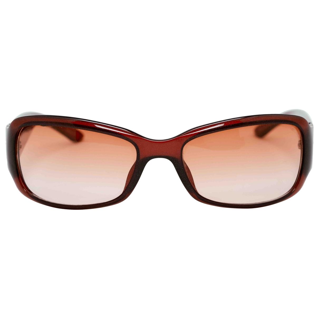 Dior \N Sonnenbrillen in  Bordeauxrot Kunststoff