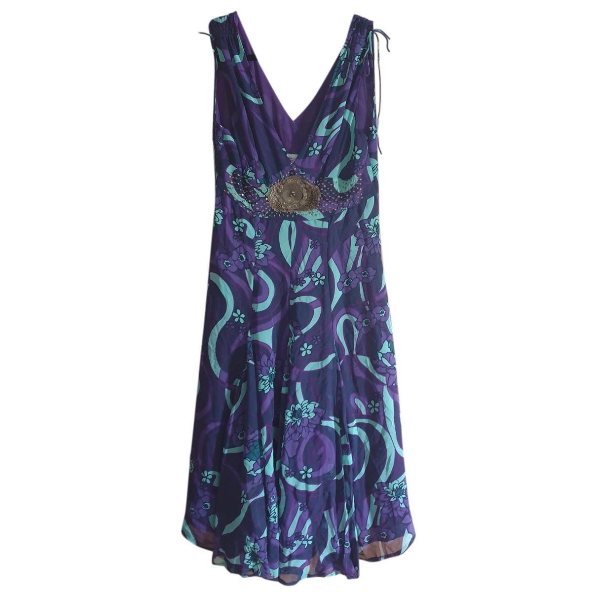 Vestido midi de Seda Karen Millen