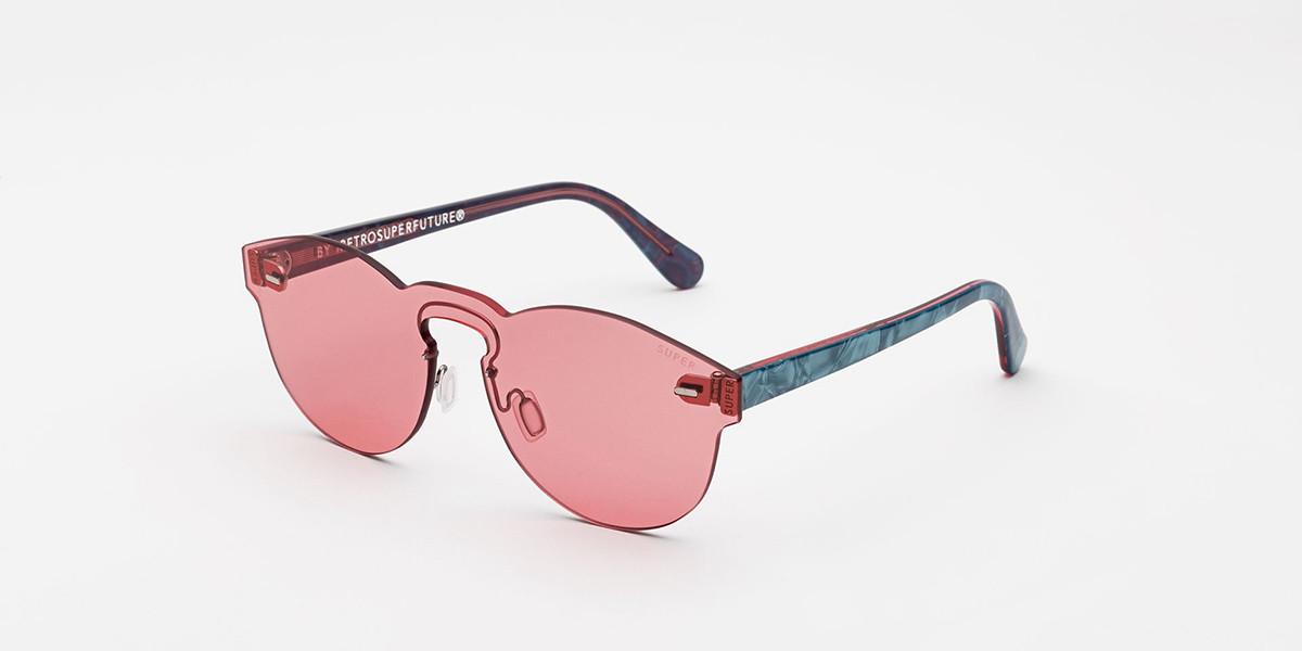 Retrosuperfuture Screen Paloma Amaranth I9H8 NV1 Men's Sunglasses Blue Size 52