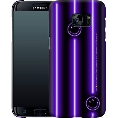 Samsung Galaxy S7 Edge Smartphone Huelle - Electro Nights von Smiley®
