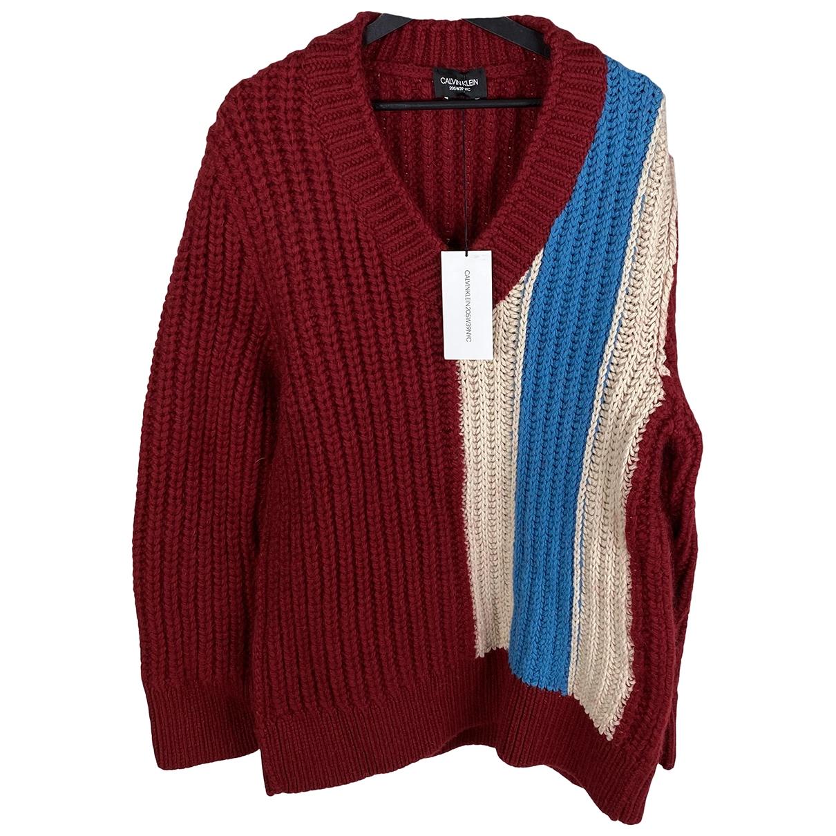 Calvin Klein 205w39nyc \N Pullover.Westen.Sweatshirts  in  Rot Wolle