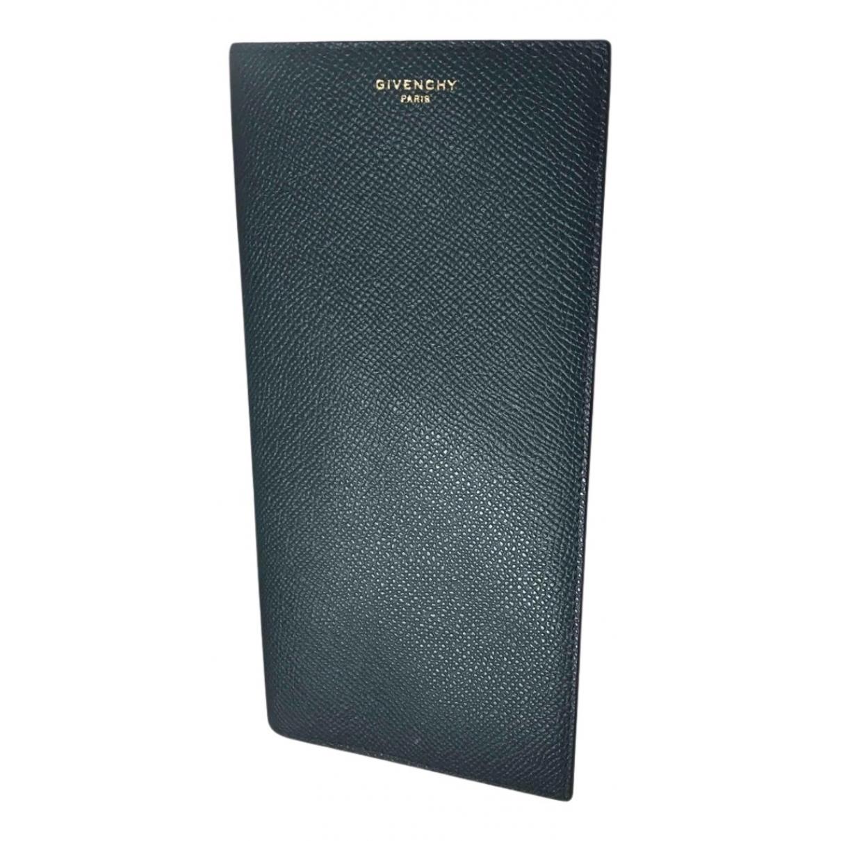 Givenchy - Petite maroquinerie   pour homme en cuir - vert