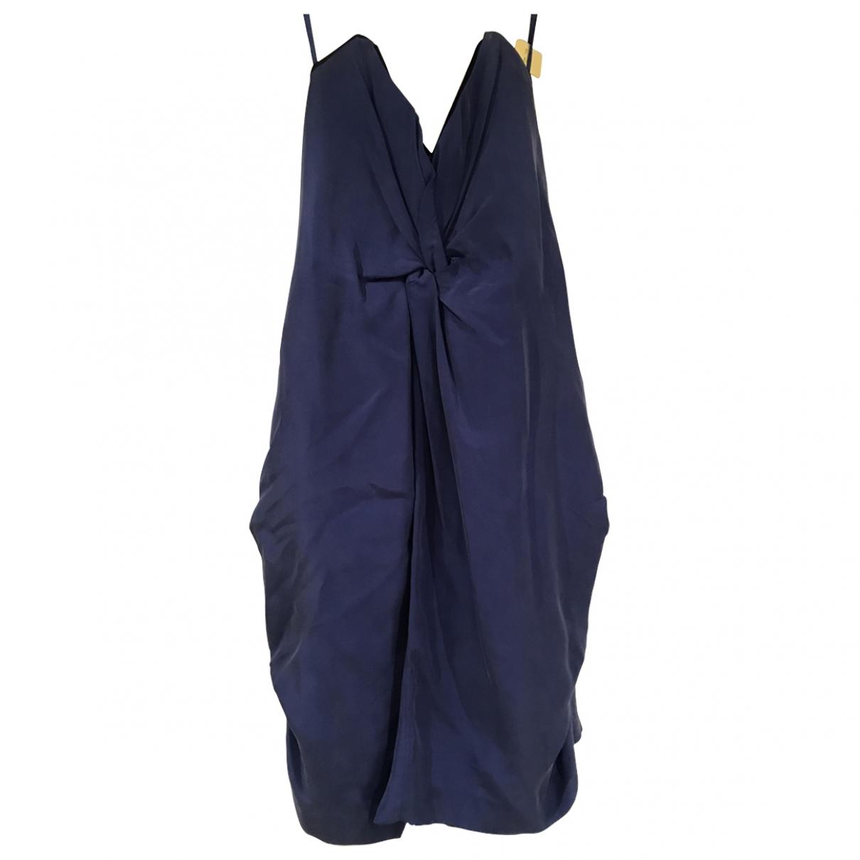 Mini vestido de Seda Reiss