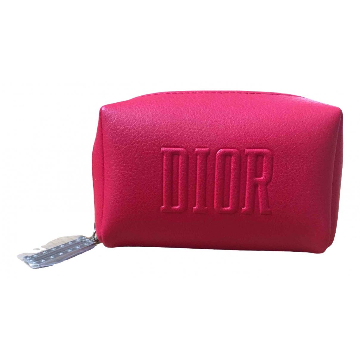 Dior - Sac de voyage   pour femme - rouge