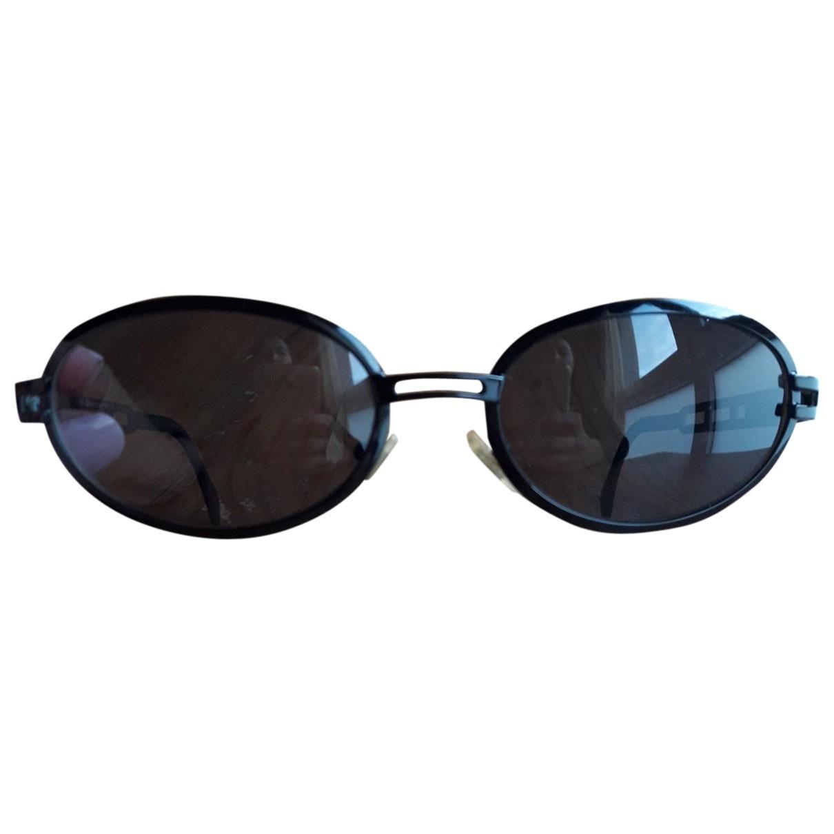 Dolce & Gabbana \N Black Metal Sunglasses for Women \N
