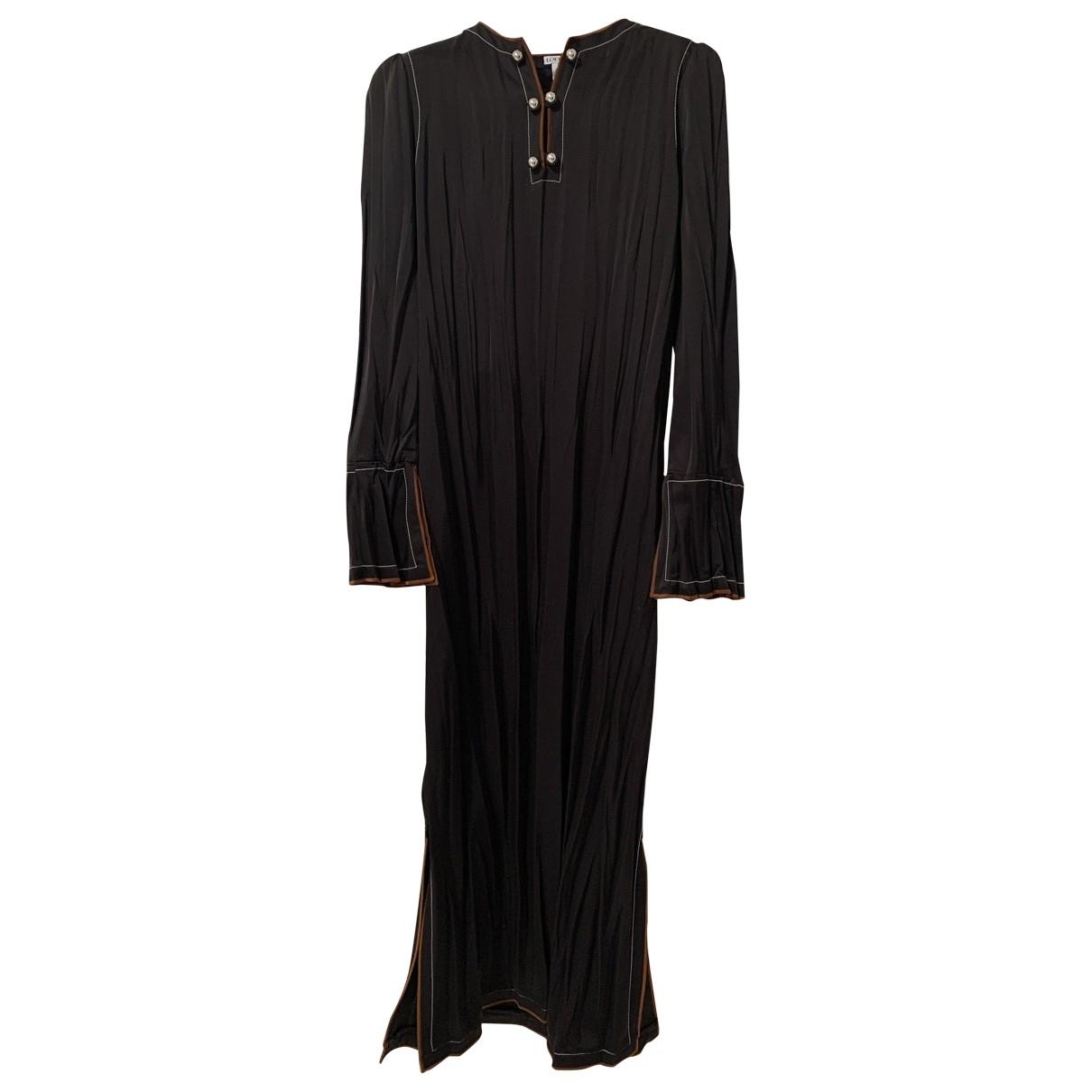 Maxi vestido de Seda Loewe