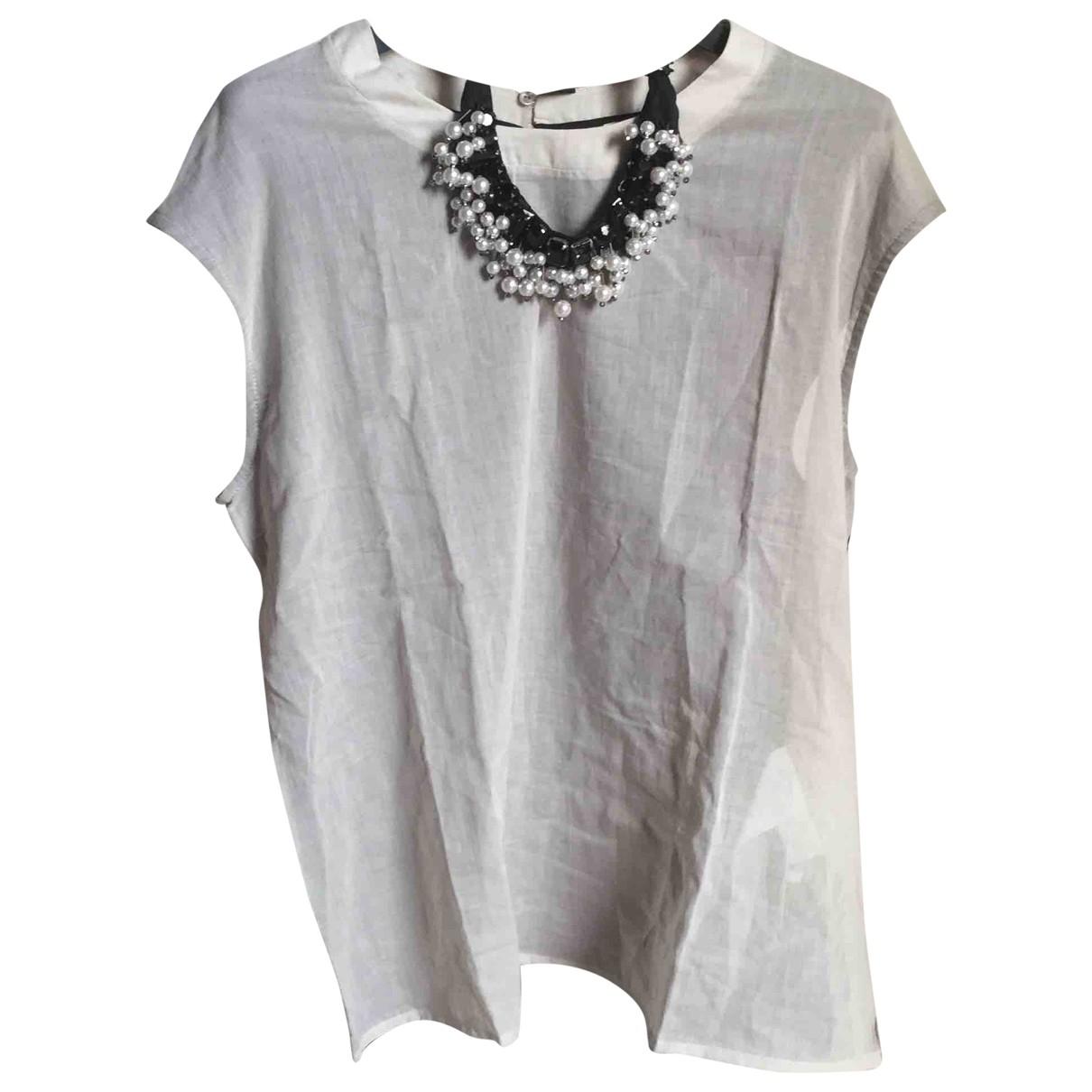 Max Mara \N Grey Cotton  top for Women M International
