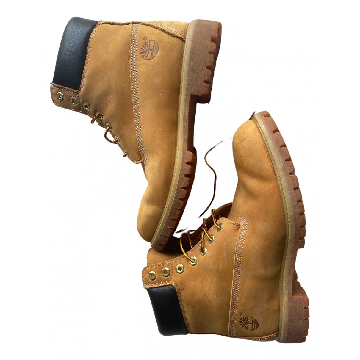 Timberland \N Stiefel in Leder