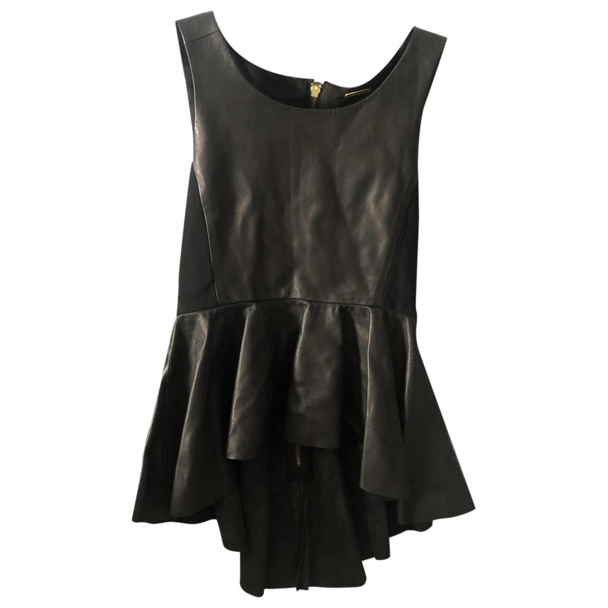 Rebecca Minkoff \N Black Leather  top for Women XS International