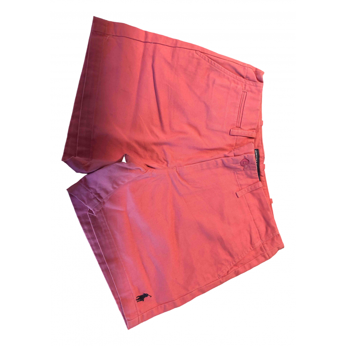 Non Signé / Unsigned \N Pink Cotton Shorts for Women 4 US