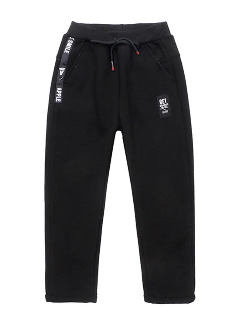 Ericdress Plain Thicken Boy's Casual Pants